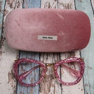 Frame Only Miu Miu SMU 10N Sunglasses/Italy/OLP477